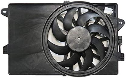NEW DUAL RADIATOR /& CONDENSER FAN FITS FIAT 500 ELECTRIC 2012-17 2018 55111351AB