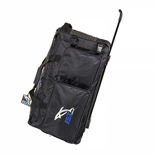 IST Heavy Duty Diver's Roller Bag Luggage with Telescopic Handle Fin Compartment Perfect for Snorkeling Diving by IST