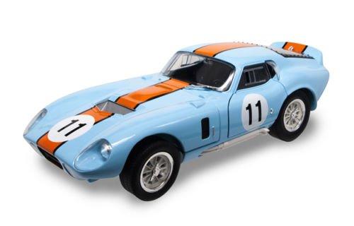 Shelby 1965 Cobra Daytona Coupe #11 Blue 1/18 by Road Signature 92408