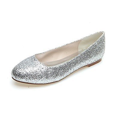 Women'S Flat Fall Black Summer Winter Gold Silver Evening Glitter UK10 amp;Amp; Spring CN46 Heel EU44 US12 Party UArHqUw