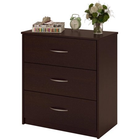 Mainstays 3-Drawer Dresser,Cinnamon Cherry by Mainstay (Image #2)