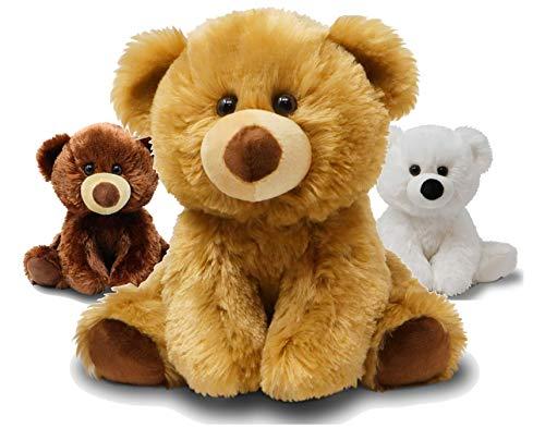 Fluffuns Teddy Bear Stuffed Animal