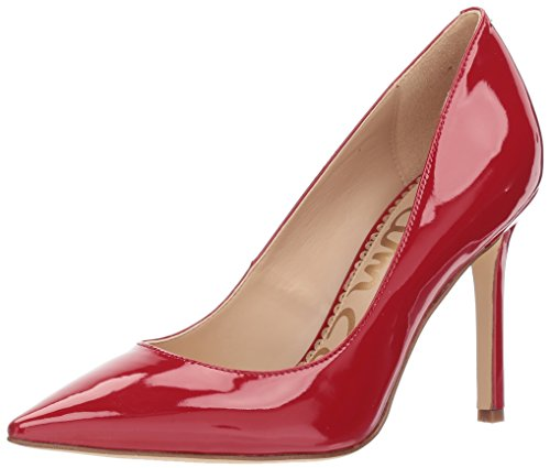 Hazel Pump, True Red Patent, 8.5 Medium US (Red Patent Pumps)