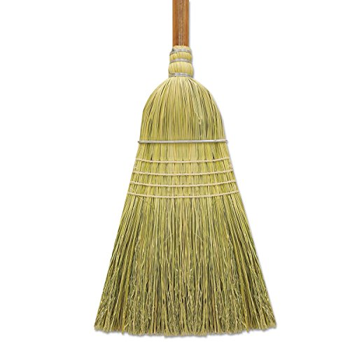 Boardwalk BR10002 Corn/Fiber Warehouse Brooms, 60'', Gray/Natural (Case of 6) by Boardwalk