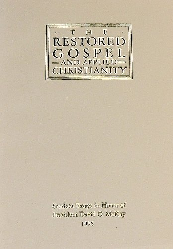 essays applied christianity Essay on christian faith my perspective on christianity is characterized by an how is it philosophically reasonable that reason may be applied to certain.