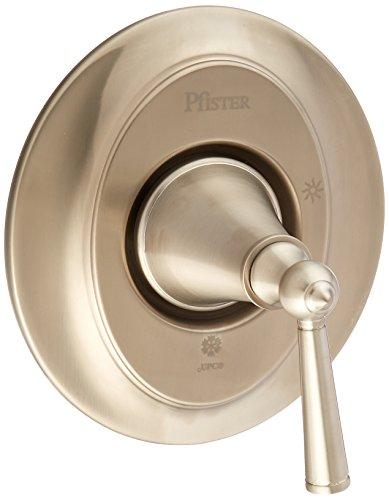 Pfister R89-1GLK Saxton 1-Handle Tub and Shower Valve Trim, Brushed Nickel ()