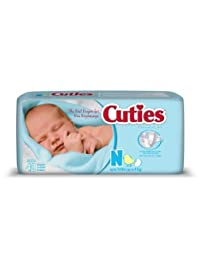 First Quality Baby Diaper Cuties Tab Closure Newborn Disposable Heavy Absorbency (#CR0001, Sold Per Case) BOBEBE Online Baby Store From New York to Miami and Los Angeles