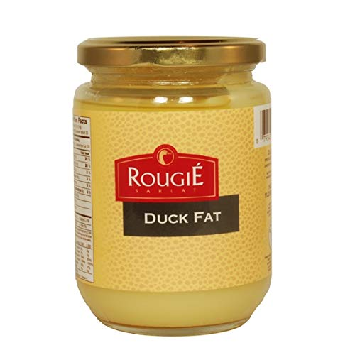 Rougie Rendered Duck Fat, Six 7-oz - Duck Fat Rougie