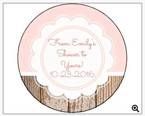 custom labels wedding bridal shower baby shower personalized labels party supplies
