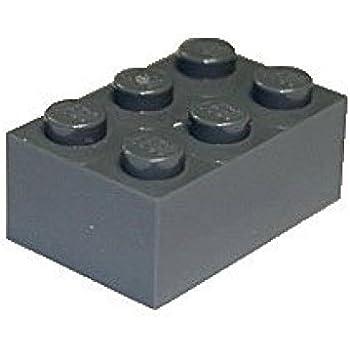 LEGO 3002 Dark Gray 1x2 BRICK 1 x 2 Building Block 20 Pcs