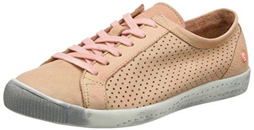Softinos Ica388sof Rosa saumon Baskets Femme U7aU8