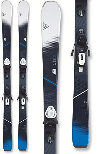 Fischer My Pro MTN 73 Skis w/My RS9 GW SLR Womentrack Bindings Womens Sz 155cm