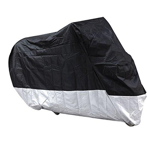 Viewlink belüftete Motorrad Abdeckplane Abdeckung, Wetterdicht Wasserdicht Staubdicht Sunblocker, XXL, 265*110*140cm
