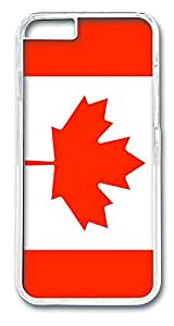 ACESR Canada Flag Protective iPhone Case PC Hard Case Back Cover for Apple iPhone 6 4.7inch