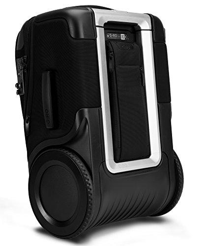 "G-RO 22"" International Smart Carry-On Luggage: Tough Terrain Wheels, Dual USB Ports, Luggage Tracker, Adjustable Handle, Expandable, TSA-Approved"