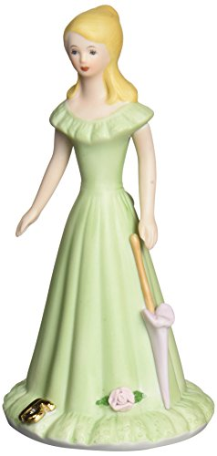 "(Enesco Growing Up Girls ""Blonde Age 15"" Porcelain Figurine, 6.75"")"