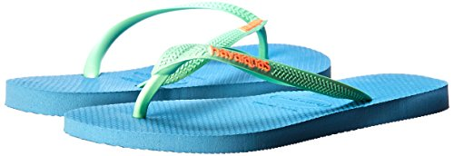 M Rose Splash BR 35 US 5 Women's Sandals Blue Slim Havaianas B Flip 6 Flip Tropical Orchid OSwaq0
