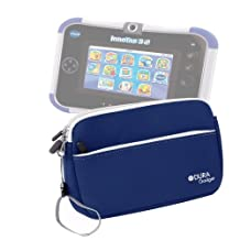 DURAGADGET Cool And Colorful Carry Case (Blue) For VTech InnoTab 3S with Rechargeable Battery Pack