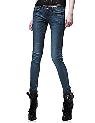 Demon&Hunter Junior's Dark Blue Skinny Jeans S8102(34)