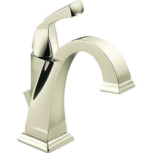 Polished Nickel Bathroom Faucet: Amazon.com