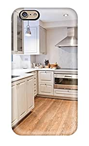 Awesome Kitchen With White Cabinetry And Stainless Appliances Flip Case With Fashion Design For Iphone 6