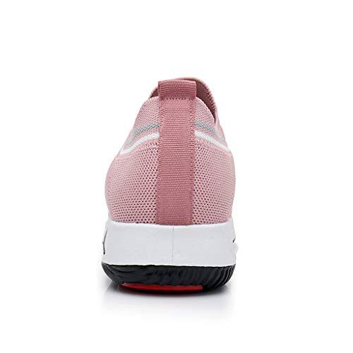 2019 Rose Outdoorlace Course Gymnastique Casual Cuir Respirant Femmes up Respiration Chaussures Femme Été Chaussures En Pu Mode Sport Femmes Baskets Ihengh wOvIRn