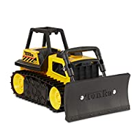 Tonka Steel Bulldozer Vehicle, Yellow