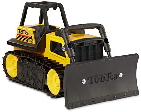 Tonka Steel Bulldozer Vehicle, Yellow