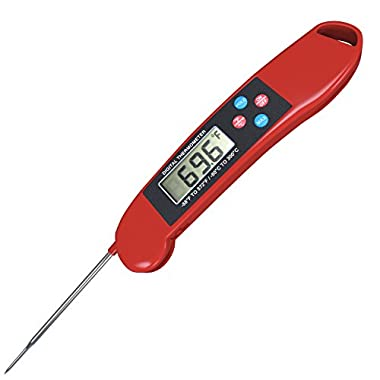 RECALIBRATABLE Instant Read Digital Meat Thermometer Best for All Cooking, Grill, BBQ,Smoker and Candy