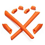 Mryok Replacement Earsocks Nosepieces Kits for Oakley Half Jacket XLJ Sunglass - Orange