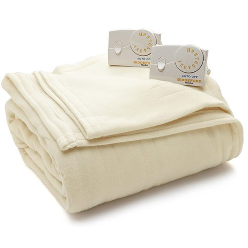 Biddeford 1023-9032108-757 Comfort Knit Fleece Electric Heat