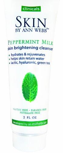 Skin By Ann Webb Cleanser, Peppermint Milk, 2 Fluid Ounce