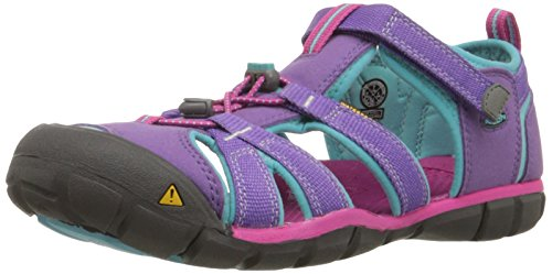 KEEN Unisex Kid's SEACAMP II CNX-Y, PURPLE HEART/VERY BERRY, 6