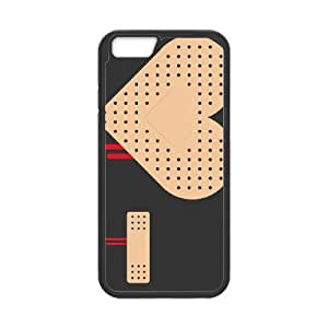 iPhone 6 4.7 Inch Cell Phone Case Black HEART BAND AID Rtogy