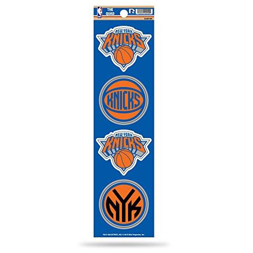 Rico NBA New York Knicks Die Cut 4-Piece The Quad Sticker Sheet by Rico