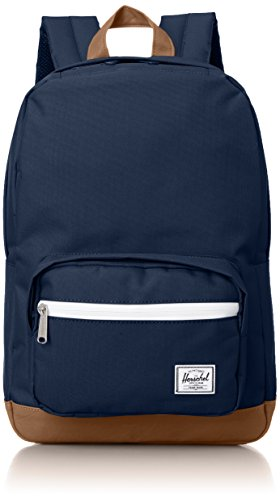 Herschel Supply Co. Pop Quiz Mid-Volume, Navy/Tan, One Size