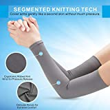 Aegend UV Protection Cooling Arm Sleeves 2 Pairs