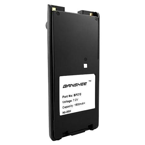 BP-209N BP-210N BP-222N Battery for ICOM IC-A6 IC-A24 IC-V8 IC-V82 IC-U82 Radio