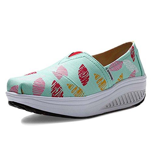 Solshine ,  Damen Sneaker Low-Tops Minzgrün