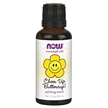 Cheer Up Buttercup Uplifting Oil Blend by NOW - 1 oz