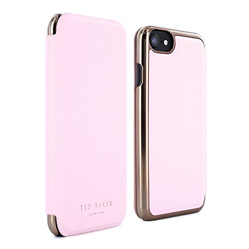 Ted Baker 30025 Rose Gold Series Kadia Folio Case, Fits iPhone 6 Plus-Retail Packaging