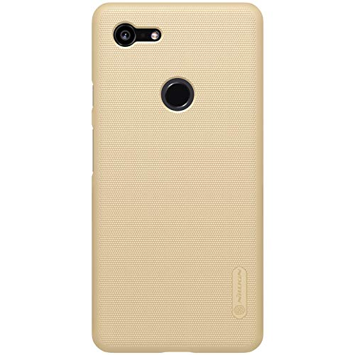 Nillkin Case for Google Pixel 3 XL Super Frosted Hard Back Cover Hard PC Gold Color
