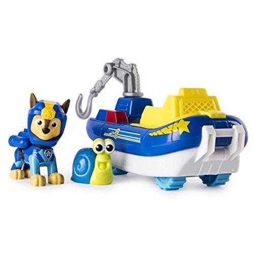 - Paw Patrol Sea Patrol - Chase's Transforming Sea Patrol Vehicle with Bonus Sea Friend