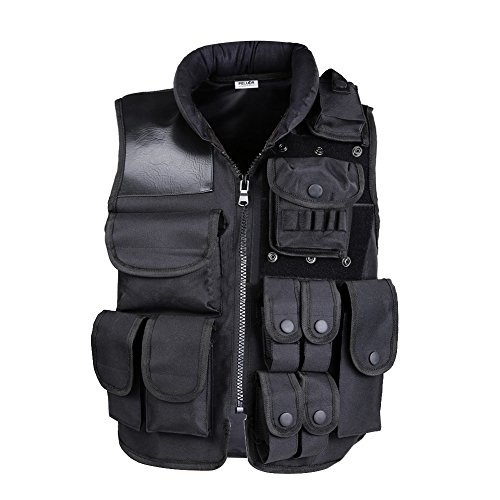 Pellor Tactical vest outdoor live-action CS field protective security training - Buy Online in ...