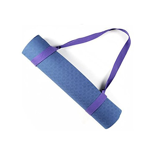 GOGO Durable Yoga Mat Harness Strap Sling, Yoga Mat Carrying Strap - Lavender