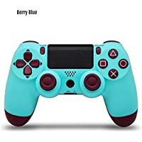 Bitplay Bluetooth 4.0 Dual Shock Wireless Controller Vibration Joystick Gamepads For PlayStation 4 PS4 Console Game Pad Charger (Light blue)