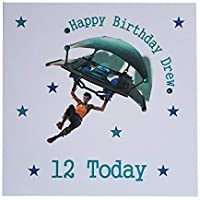 Personalised Fortnite Happy Birthday Greeting Card Age Name