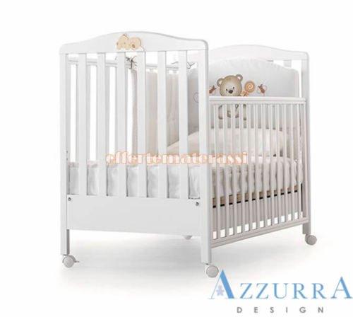 Kinderbett Azzurra Design Web weiß mit Dekor Kinder Kindheit