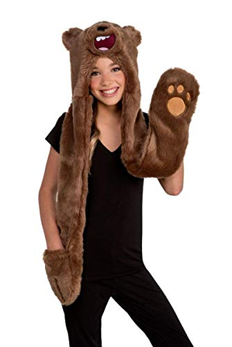 We Bare Bears Grizzly Adult Costume Hoodie - One -