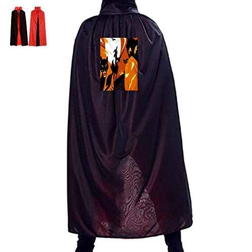 The Carnival of Halloween Double Hooded Robes Cloak Knight Cosplay Costume 35.5(in)]()